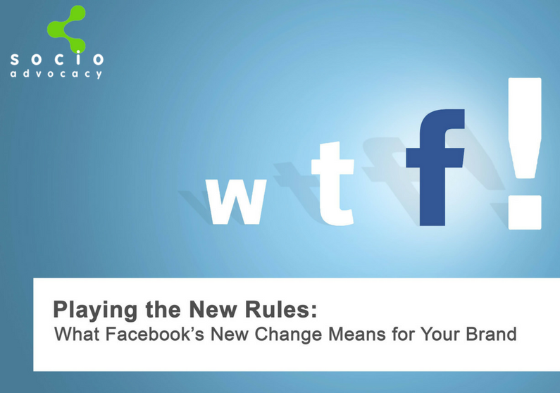 What Facebook's New Change Means for Your Brand
