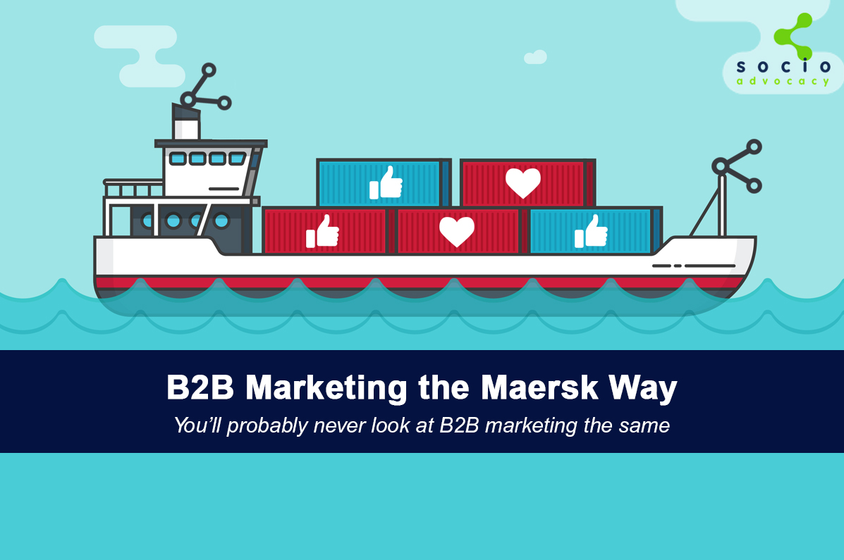 B2B Marketing the Maersk Way